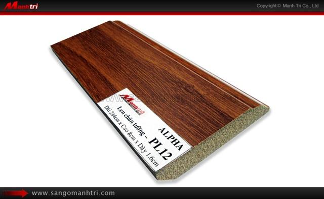 Len chân tường sàn gỗ PL12