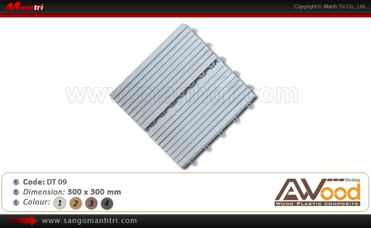 Vỉ gỗ nhựa Awood DT09