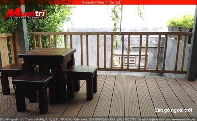 Dự án thi công gỗ ngoài trời Awood tại quận Phú Nhuận TPHCM