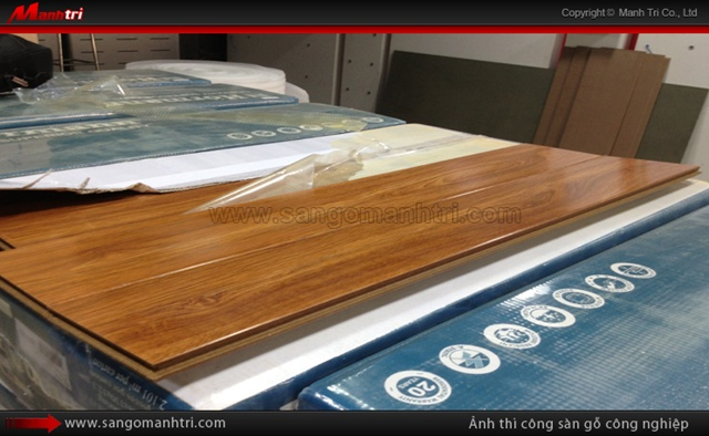 Dự án thi công ván gỗ công nghiệp Hormann HV1186 tại quận 1 TPHCM