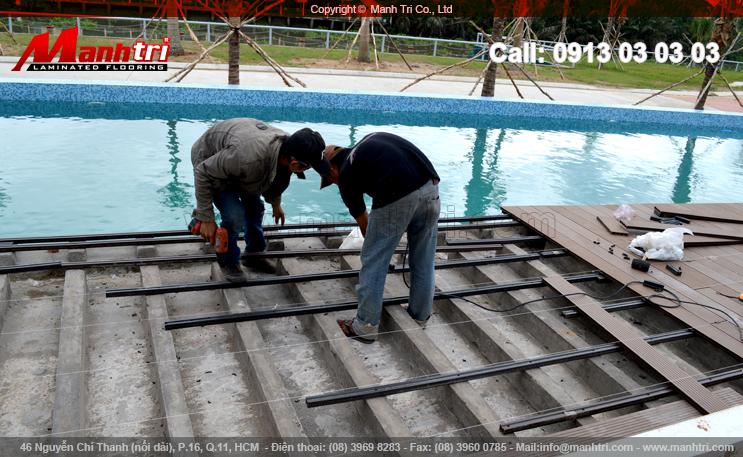Dự án gỗ ngoài trời Awood HD140x25 tại quận Thủ Đức, TPHCM