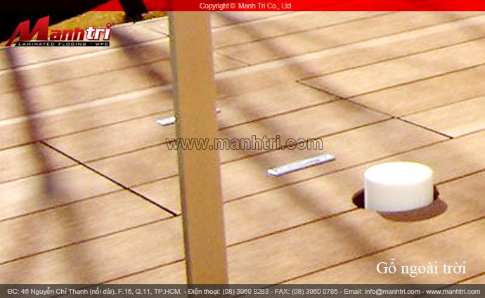 Bộ sưu tập gỗ nhựa kết hợp kim loại