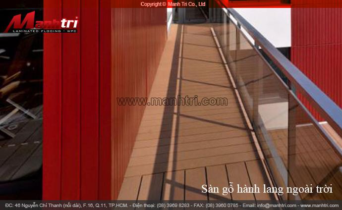 Bộ sưu tập hành lang gỗ ngoài trời