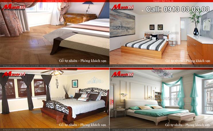 Sàn gỗ nội thất cho không gian sống thêm ấn tượng