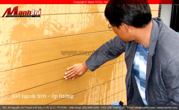 Bộ sưu tập gỗ ốp tường ngoài trời