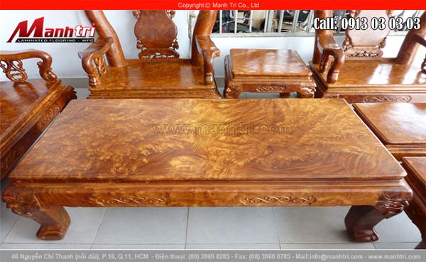 Sàn gỗ đẹp tự nhiên