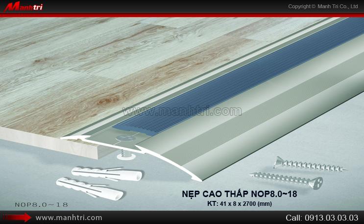 Nẹp cao thấp NOP8.o~18