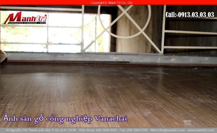 Lắp đặt sàn gỗ công nghiệp Vanachai VF1067 tại quận 3, TPHCM