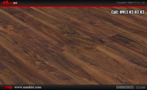 Lắp đặt sàn gỗ công nghiệp Kronoswiss 2300 tại quận 7, TPHCM