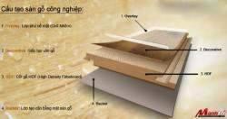 Cấu tạo và các tiêu chuẩn để đánh giá chất lượng của sàn gỗ công nghiệp