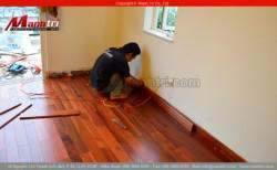 Sàn gỗ tự nhiên Giáng Hương Lào
