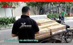 Sàn gỗ tự nhiên Sồi Trắng được thi công tại quận 11, TPHCM