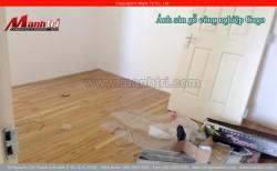 Lắp đặt sàn gỗ công nghiệp Gago MG001 tại quận 7, TPHCM
