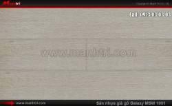 Sàn nhựa giả gỗ Vinyl Galaxy MSW 1001