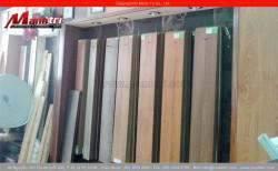 Sàn gỗ công nghiệp màu trắng