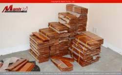 Lót sàn gỗ tự nhiên tại các tỉnh thành