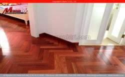 Sàn gỗ tự nhiên Giáng Hương Lào Sàn gỗ tự nhiên được ưa thích nhất thị trường!