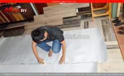 Kỹ thuật trải xốp trước khi lát sàn gỗ!
