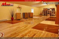 Sự khác nhau giữa sàn gỗ tự nhiên và sàn gỗ công nghiệp