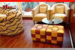 Cách bài trí phòng khách với sàn gỗ công nghiệp