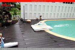 Sàn gỗ ngoài trời cao cấp chống cháy và chống nước