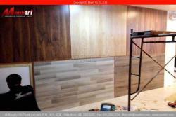 Ốp tường ván gỗ công nghiệp