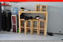 Bán thanh gỗ pallet giá rẻ làm bàn ghế
