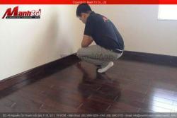 Căn hộ cao cấp lát sàn gỗ tự nhiên Chiu Liu