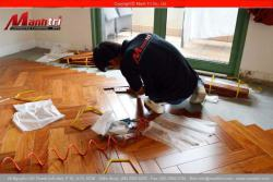 Căn hộ cao cấp lót sàn gỗ tự nhiên