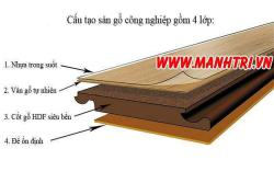 Xử lý sàn gỗ công nghiệp bị ngập nước
