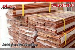 Qui trình lắp đặt sàn gỗ tự nhiên trên khung xương gỗ