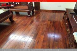 Lót sàn gỗ tự nhiên Căm Xe Lào