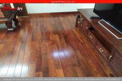 Lắp đặt sàn gỗ tự nhiên Căm Xe tại Hà Nội