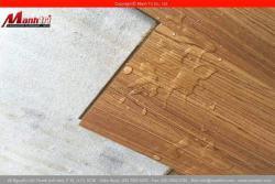 Bảo quản sàn gỗ công nghiệp