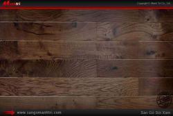 Thêm phần sang trọng với sàn gỗ công nghiệp tối màu