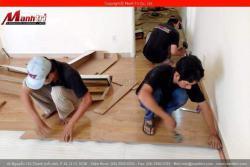 Dụng cụ cần có khi thi công sàn gỗ