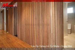 Thiết kế không gian sang trọng với sàn gỗ công nghiệp ốp tường