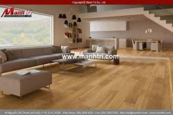 Sàn gỗ công nghiệp: Giải pháp cho nhà ở hiện đại