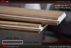 Những điều cần biết về sàn gỗ kỹ thuật