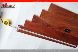 Sàn gỗ tự nhiên Giáng Hương 900mm