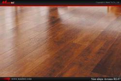 Sàn nhựa giả gỗ đối đầu sàn gỗ công nghiệp
