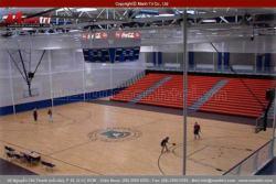 Lắp đặt sàn gỗ công nghiệp cho hạng mục sân bóng trong nhà
