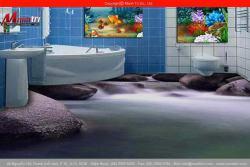 Sàn 3D cho phòng tắm