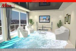 Sàn nhà 3D phòng khách