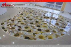 Gạch 3D lót sàn phòng ngủ