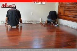 Sàn gỗ Giáng Hương tự nhiên giá rẻ