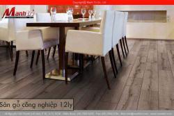 Sàn gỗ công nghiệp 12ly