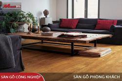 Đặc tính cơ bản của sàn gỗ công nghiệp