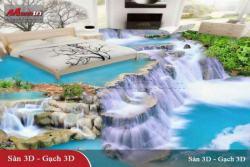 Gạch tranh 3D đẹp cho phòng ngủ
