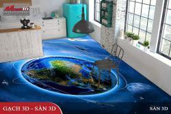 Sáng tạo không giới hạn cùng sàn 3D